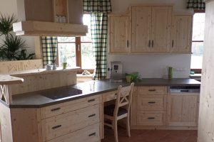Rustikale Küche - Herd