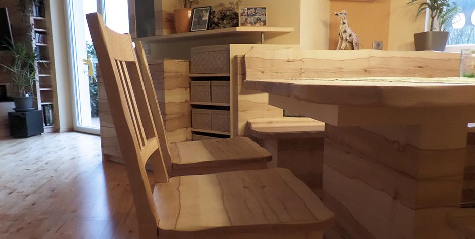 Esszimmer Buche-Ahorn - Stühle
