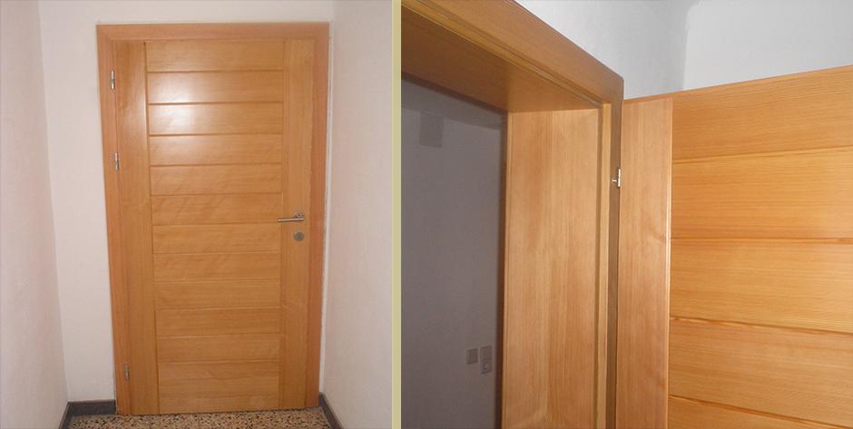 moderne innent r aus l rchen holz wohntraum branka. Black Bedroom Furniture Sets. Home Design Ideas