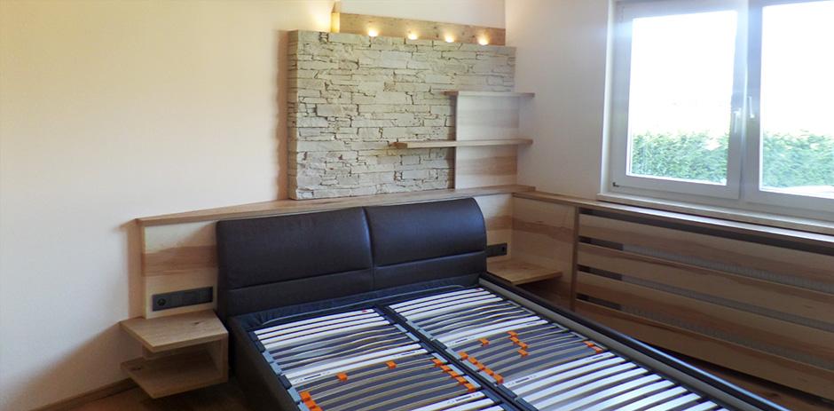 Schlafzimmer in Asteiche