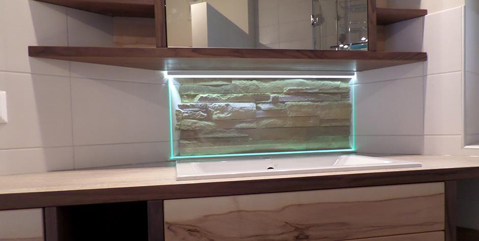 Badezimmer - Integrierte LED Beleuchtung