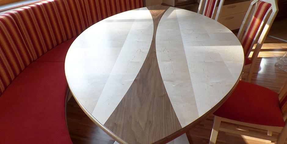 Esszimmer - Tisch im Detail