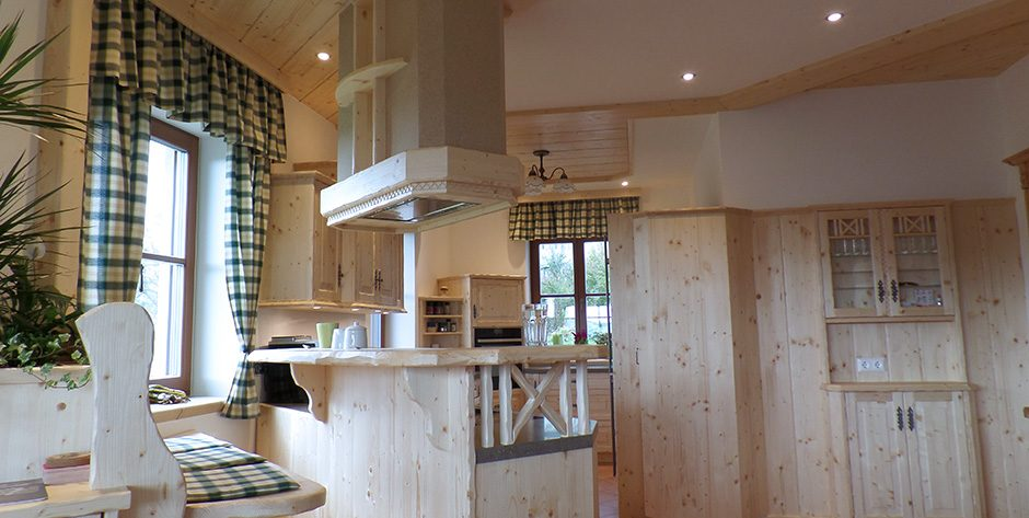 Rustikale Küche - Bar