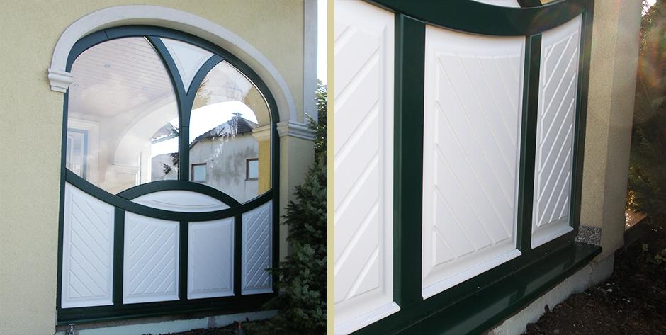 Arkadenfenster - Details