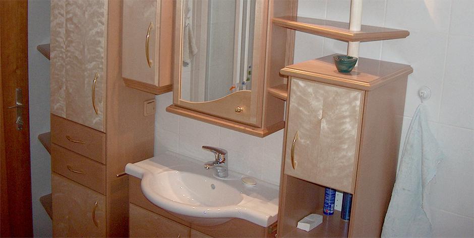 Badezimmer Buche - Waschtisch