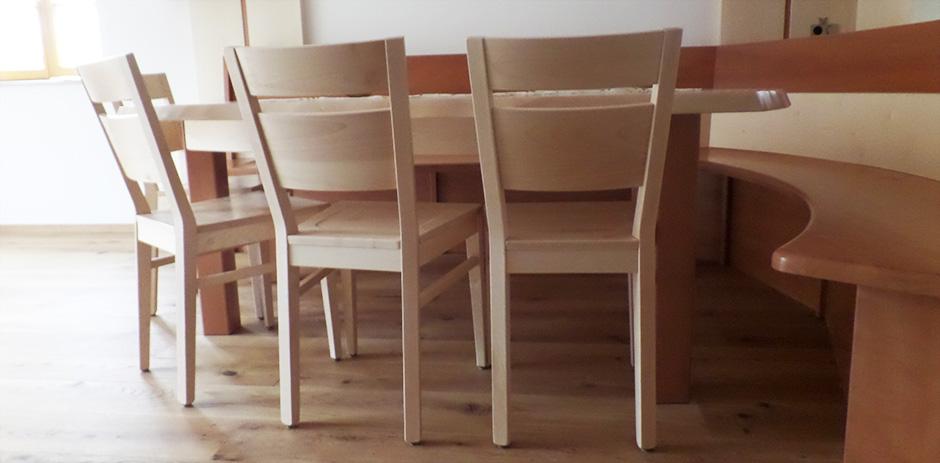 Sessel im Detail