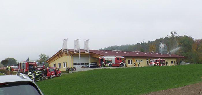 Feuerwehrübung bei Wohntraum Branka