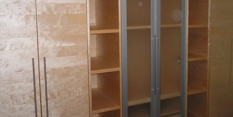 Kinderzimmer aus Buche und Birke - Schrank