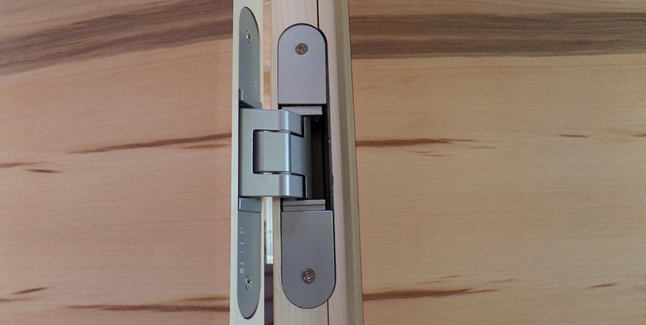 Moderne Zimmertür - Tectus Bänder