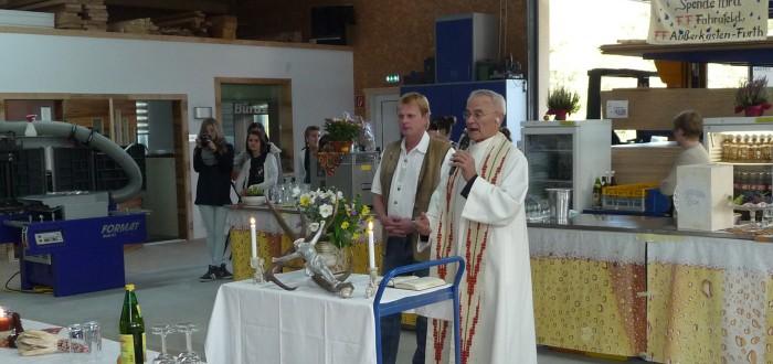 Wohntraum Robert Branka - Einweihungsfest Segnung