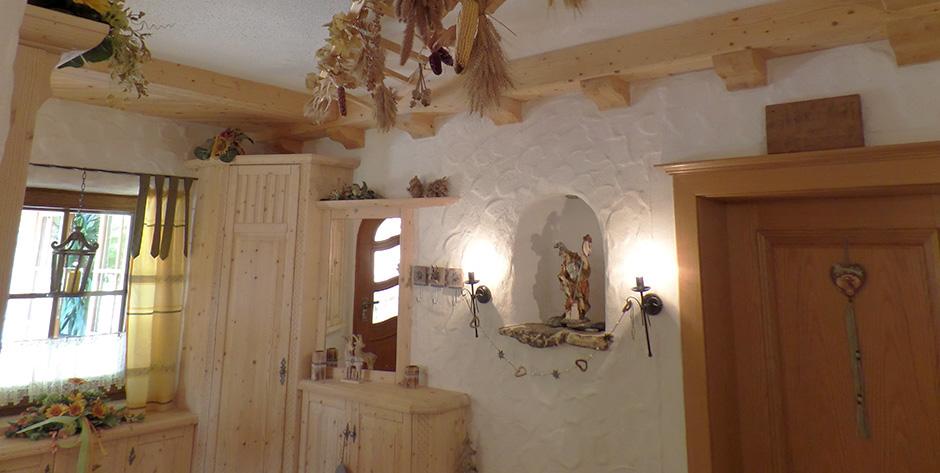 Rustikales Vorzimmer - Überblick