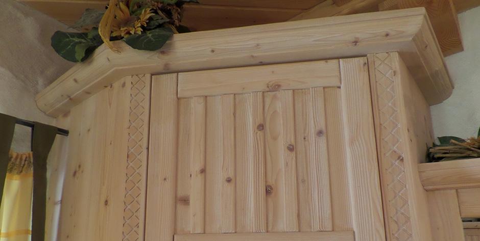 Rustikales Vorzimmer - Details