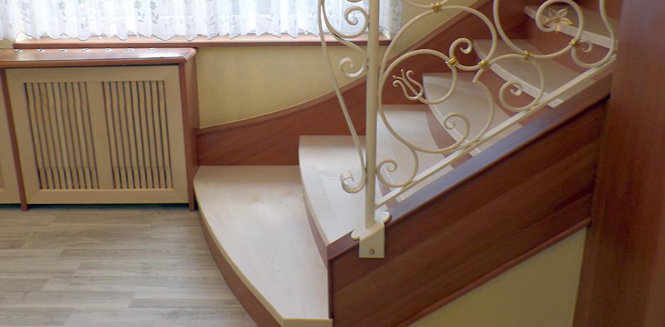 Treppe von der Seite