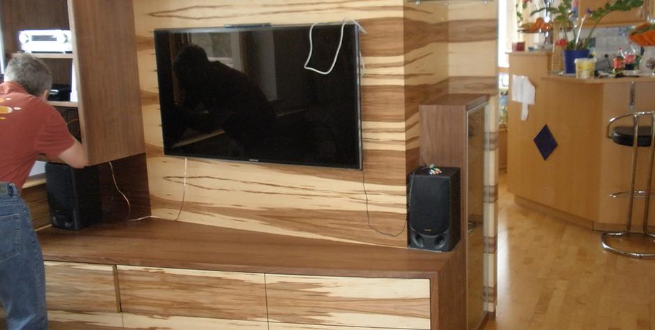Wohnzimmer - TV Element